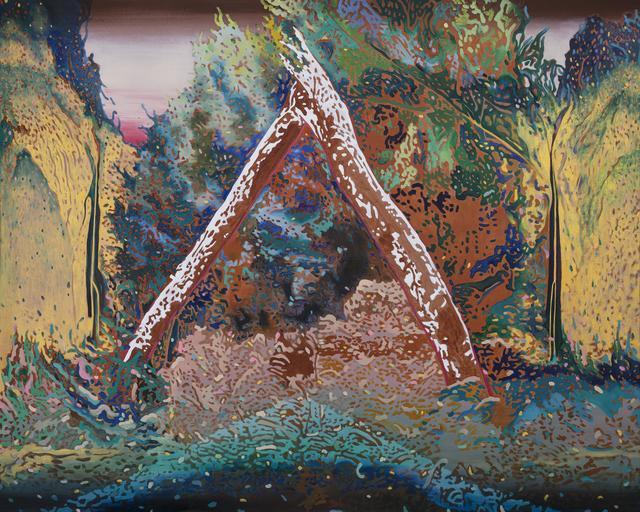 Kao Ya-Ting, 'Golden Wall', 2019, NUNU FINE ART