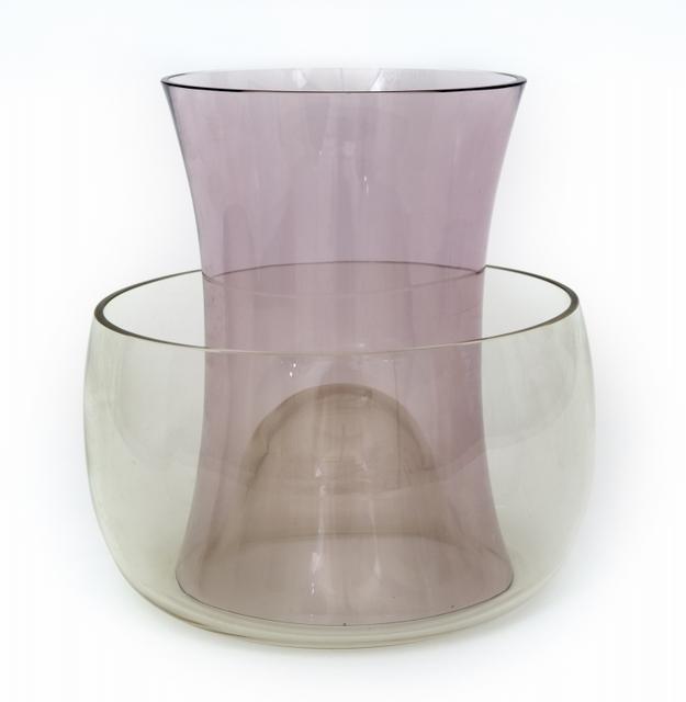 Enzo Mari, 'Vaso doppio' (double vase) for DANESE MILANO', 1991, Aste Boetto