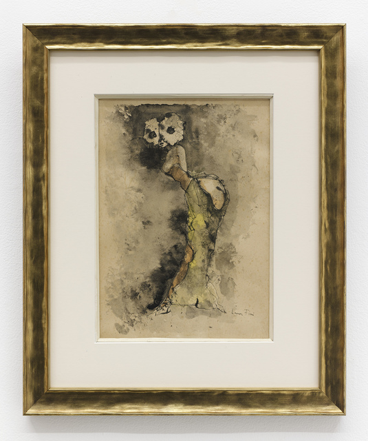 Leonor Fini, 'Woman', 1968, Drawing, Collage or other Work on Paper, Ink and watercolor on paper, The Hole
