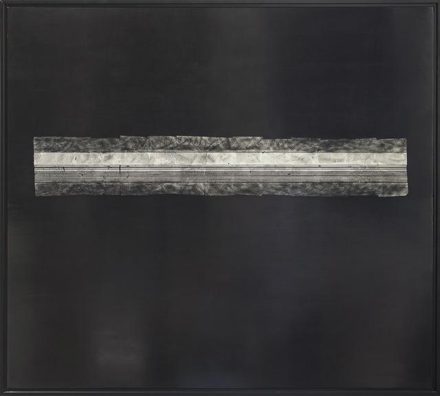 George Dunbar, 'Hygeia', 2015, Painting, Black clay with palladium leaf, Callan Contemporary