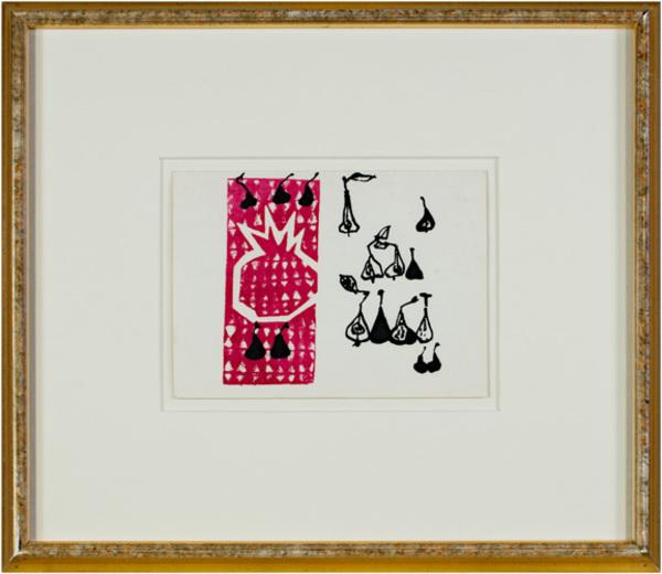, 'Pear & Pomegranate,' 1957, David Barnett Gallery