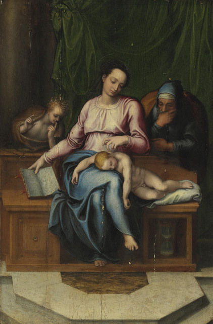 , 'The Holy Family (Il Silenzio),' , Christie's Old Masters