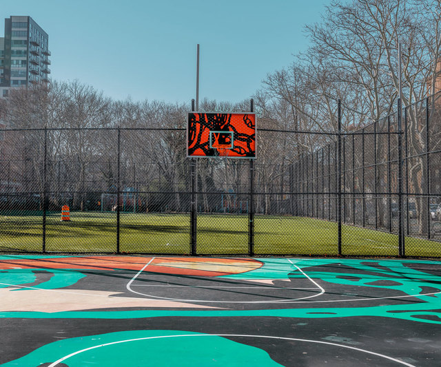 , 'New York Basketball Court 2,' 2019, ArtStar