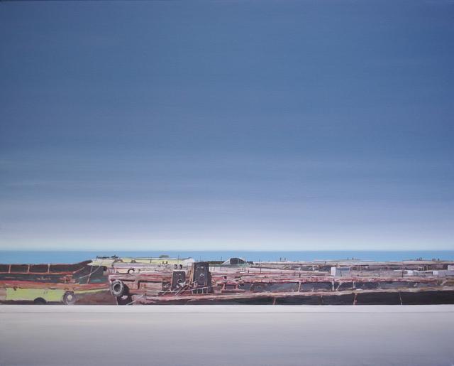 , 'Shipyard,' 2013, Galerie Sandhofer