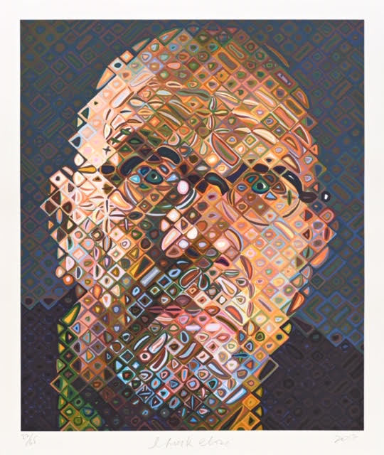 Chuck Close, 'Self-Portrait', 2017, Vertu Fine Art
