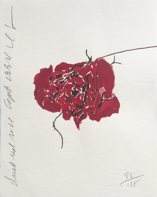 Donald Sultan, 'Dried Red Rose ', 1994, David Krut Projects