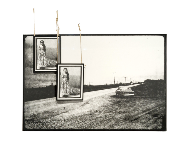 , 'Solitary Car,' 2015, Sabrina Amrani