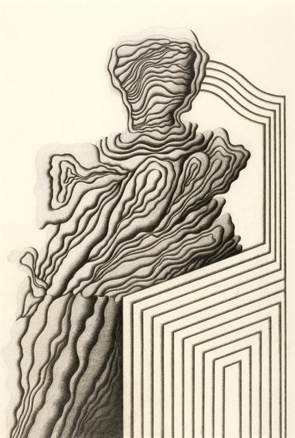 , 'Character on a sofa,' 1979, Jorge Mara - La Ruche