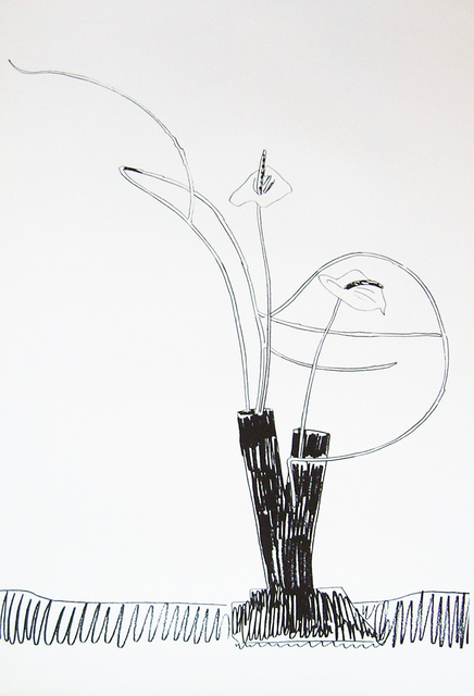 , 'Flowers (Black and White),' 1974, Maddox Gallery