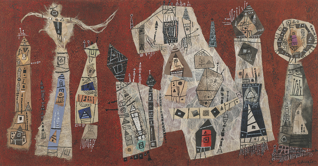 , 'Untitled (Collage),' 1954, Debra Force Fine Art