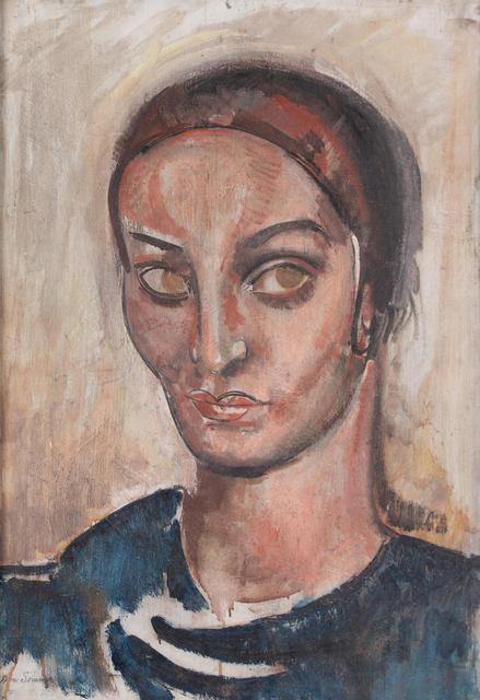 , 'Portrait of a Woman,' ca. 1925, WOLFS