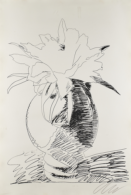 Andy Warhol, 'Untitled from Flowers', 1974, Print, Screenprint on paper (framed), Rago/Wright