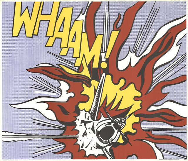 Roy Lichtenstein, 'Whaam!', 1964, ArtWise