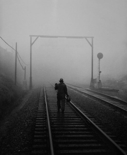 , 'SPRR Track Walker in Bayshore Fog Commute District,' , Robert Mann Gallery
