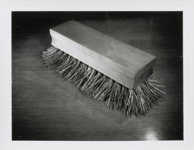Robert Therrien, 'No title (scrub brush)', 2004, Photography, Polaroid photograph, Sprüth Magers