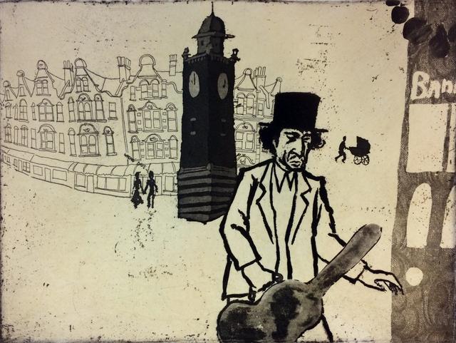 , 'Urban Myths IX, Bob Dylan Lost in Crouch End,' , Sarah Wiseman Gallery