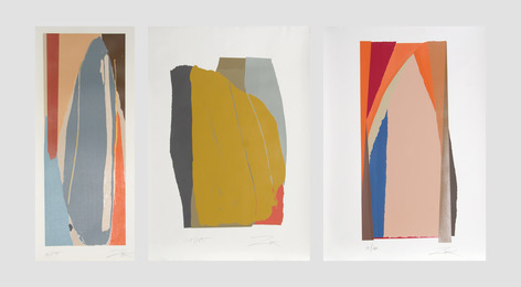 Larry Zox, 'Niagra Series; Odon II; Bonac II (three works),' ca. 1980, Heritage Auctions: Holiday Prints & Multiples Sale