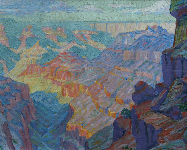 , 'In the Grand Canyon,' 1916-1966, JRB Art at The Elms