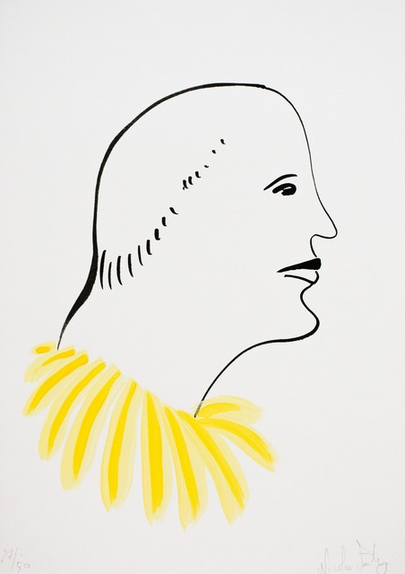 Nicolas Party, 'Untitled (yellow)', 2016 , Lougher Contemporary