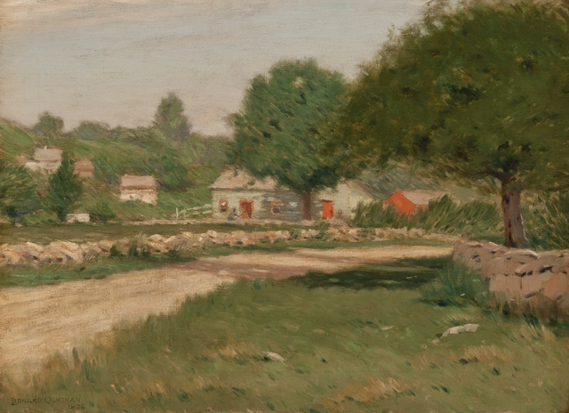 Leonard Ochtman, 'Greenwich', 1896, Private Collection, NY