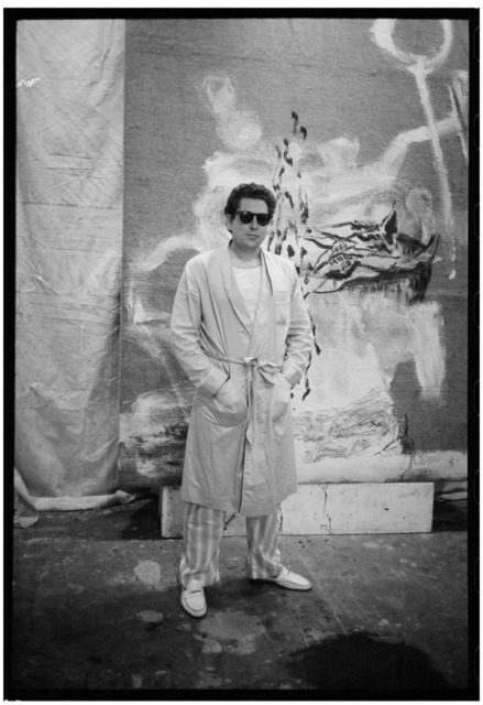 , 'Julian Schnabel, Pyjama, New York,' 1983, Galerie Peter Sillem