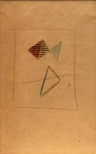 , 'Study for Composition No. 144 (D66),' c. 1943, Annely Juda Fine Art