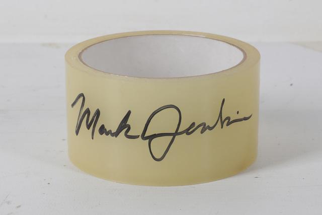 Mark Jenkins, 'Mini Trasher & Signed Sellotape, 2012', 2012, Chiswick Auctions