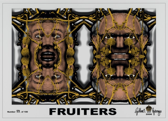 Gilbert & George, 'Fruiters,' 2006, White Cube