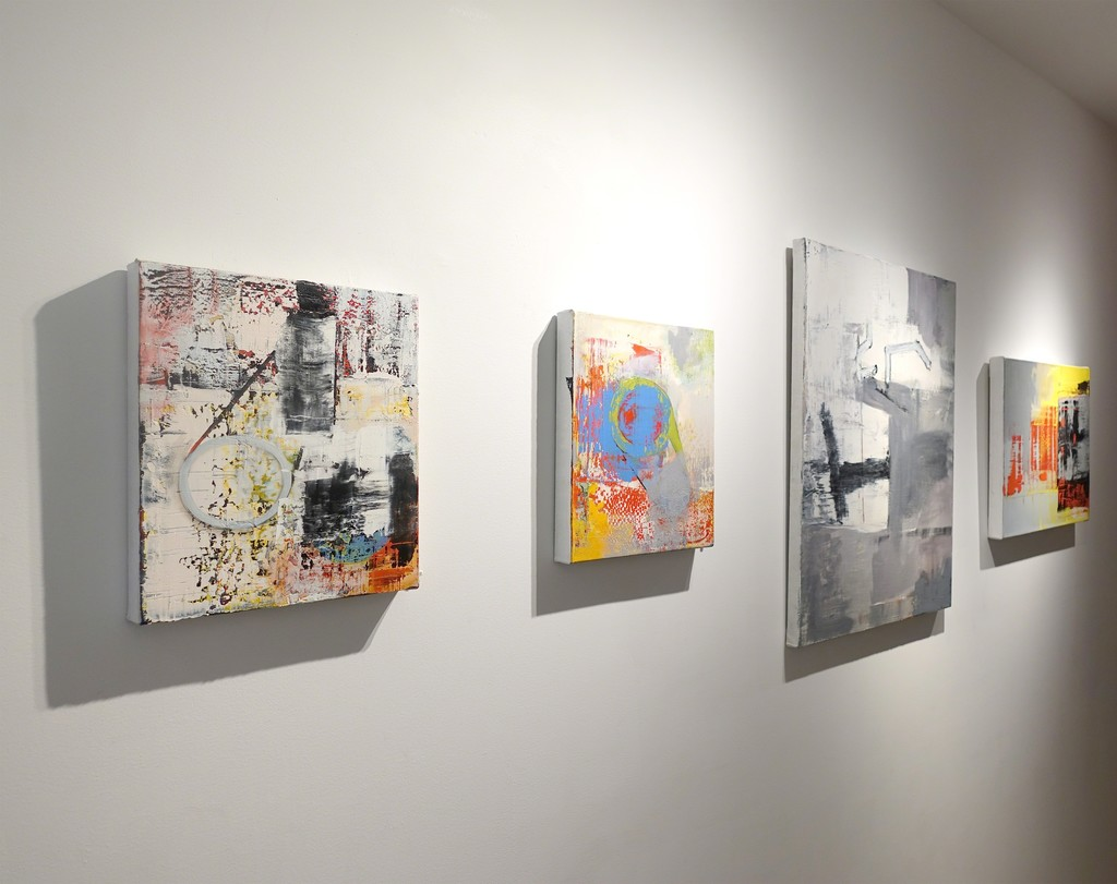 "Installation view: ""Alexis Portilla: Poet in Space"""