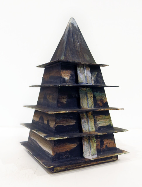 , 'Untitled (temple/stupa),' 2016, Edward Thorp Gallery