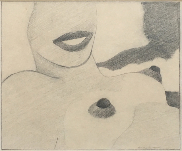 , 'Great American Nude Drawing for Silkscreen Nude,' 1965, Joseph K. Levene Fine Art, Ltd.