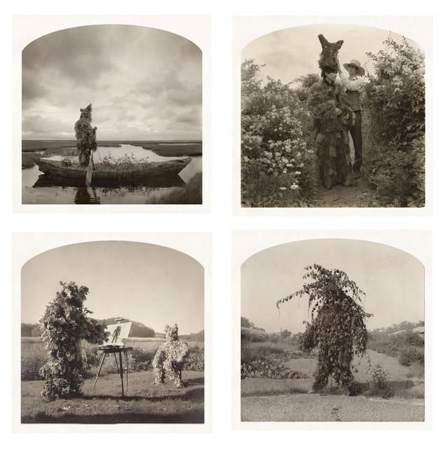 , '(Clockwise, start top left)Voyage of Greenman, Green Crown, Green God, Action Painter,,' , Yancey Richardson Gallery