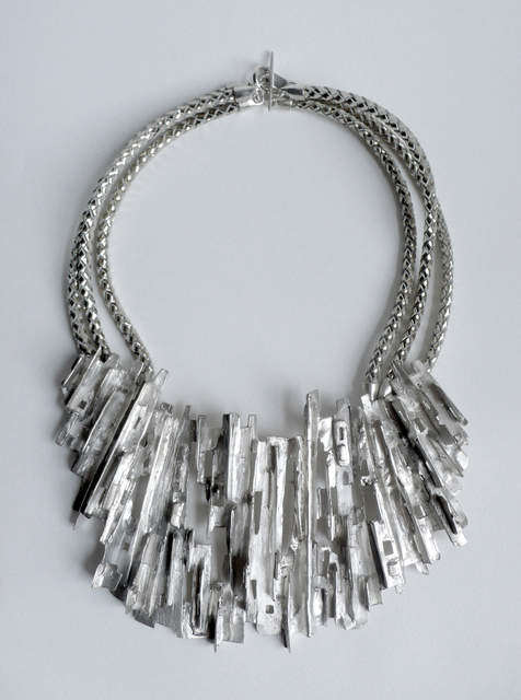 Tabor and Villalobos, 'Ridged Cityscape Medallion Necklace', 2012, Cristina Grajales Gallery