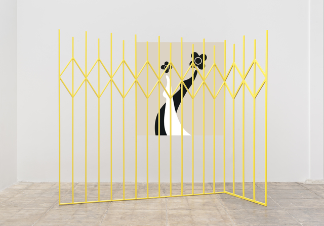 , 'Yellow Gate,,' 2014, Mona Bismarck American Center