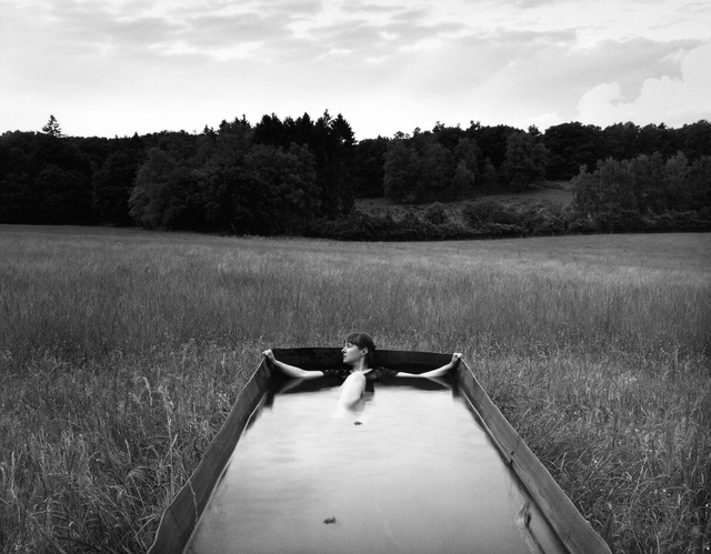 , 'Rest, Self Portrait, Hoge Veluwe National Park, Holland,' 2015, Vision Neil Folberg Gallery