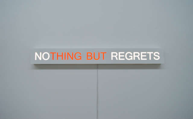 , 'No Regrets,' 2017, Olga Korper Gallery