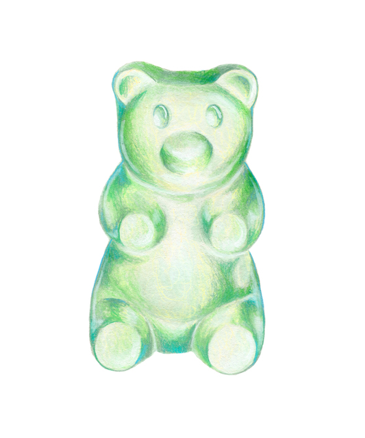 , 'Gummy Bear Green-Teal,' 2017, ArtStar