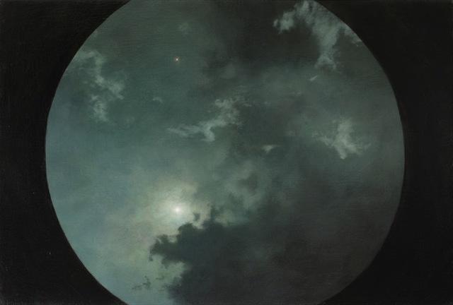 , 'Oculus, night clouds,' 2018, DANESE/COREY