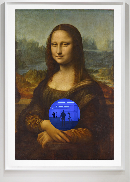 , 'Gazing Ball (da Vinci Mona Lisa),' 2016, Two Palms