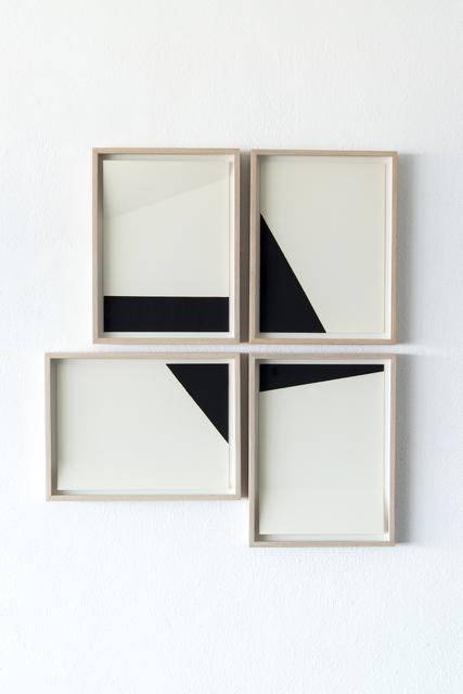 , 'White and black compositions no. 04,' 2016, Casa Triângulo