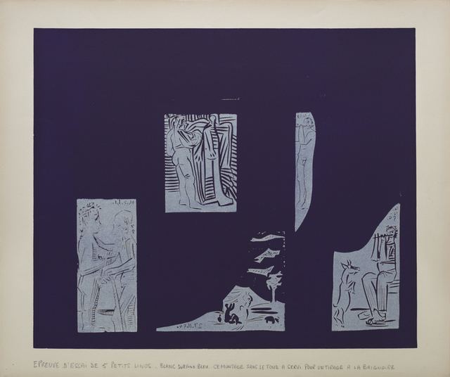 Pablo Picasso, 'Couple debout', 1959, Print, Linocuts printed in colours, Frederick Mulder
