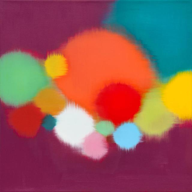 Anda Kubis, 'Pathways, Violet', 2019, Newzones