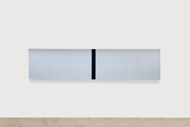 , 'Untitled (White, Black, Beveled),' 2018, Lehmann Maupin