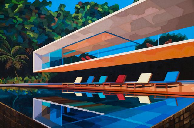 Andy Burgess, 'Paraty House, Brazil', 2017, Etherton Gallery