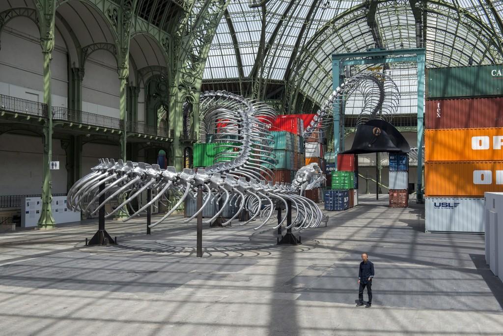 Huang Yong Ping, Empires, MONUMENTA 2016 © Adagp, Paris 2016, courtesy de l'artiste et kamel mennour, Paris, Photo Didier Plowy pour la Rmn-GP
