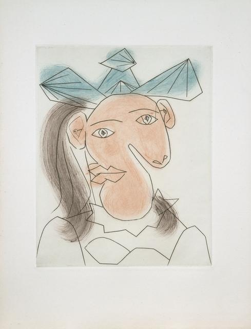 Pablo Picasso, 'Tète de femme No. 7. Portrait de Dora Maar', 1939, John Szoke