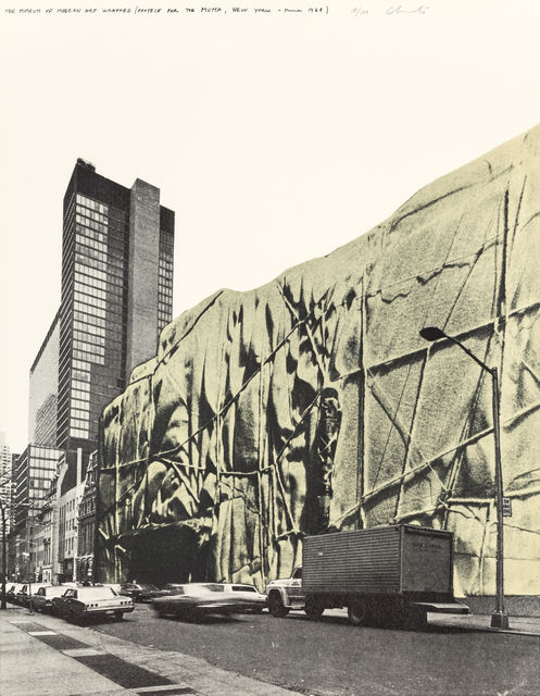 , 'The Museum of Modern Art Wrapped (Project for the MOMA, New York, June 1968),' 1971, MILL Contemporary