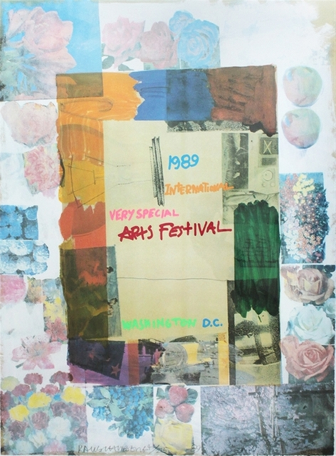 Robert Rauschenberg, 'International Very Special Arts Festival', 1989, Posters, Lithograph on wove paper, Signed & Numbered (unframed), Alpha 137 Gallery