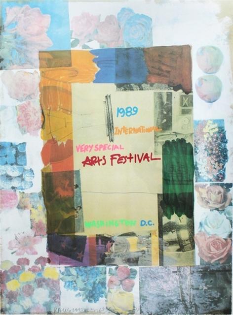 Robert Rauschenberg, 'International Very Special Arts Festival', 1989, Alpha 137 Gallery