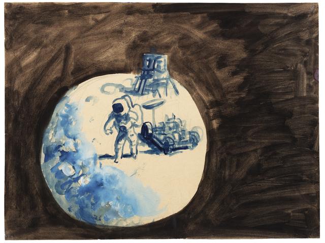 , 'Sin Título ( Apolo 15),' ca. 1972-1973, Cosmocosa